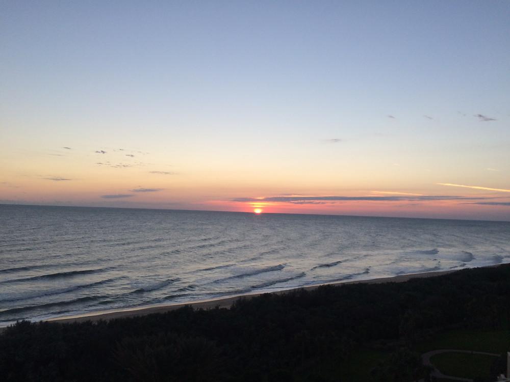 Sunrise in Palm Coast, FL