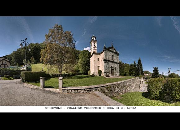 Sordevolo Frazione Verdobbio - chiesa di S. Lucia