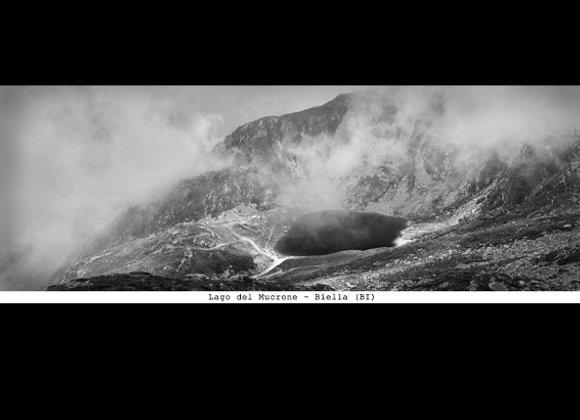 Stampa Lago del Mucrone  cm.
