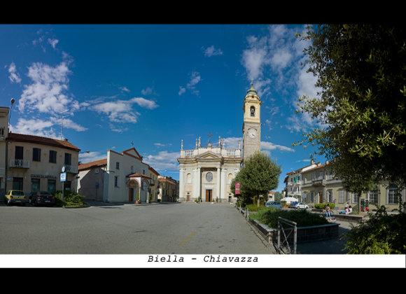 Biella - Chiavazza  cm. 15 x 9
