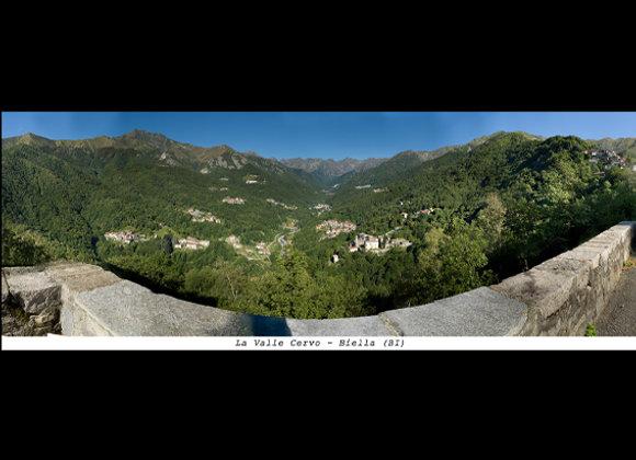 Valle Cervo - Biella (BI)  Cm. 24 x 9