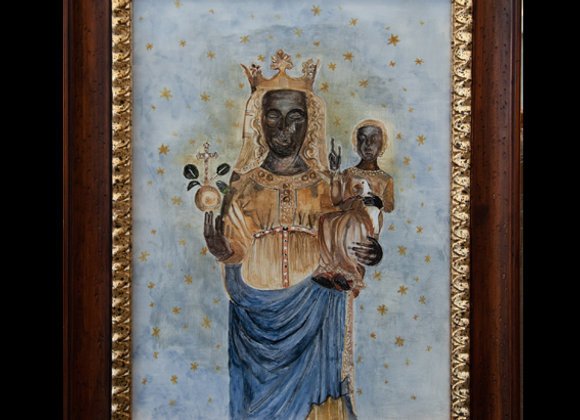 Madonna d'Oropa cm. 30 x 40