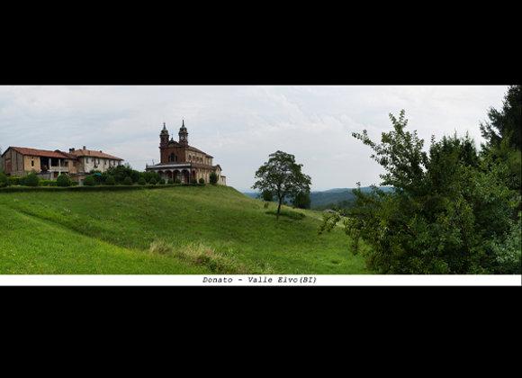 Donato  -  Valle Elvo (BI)  cm. 23,5 x 9
