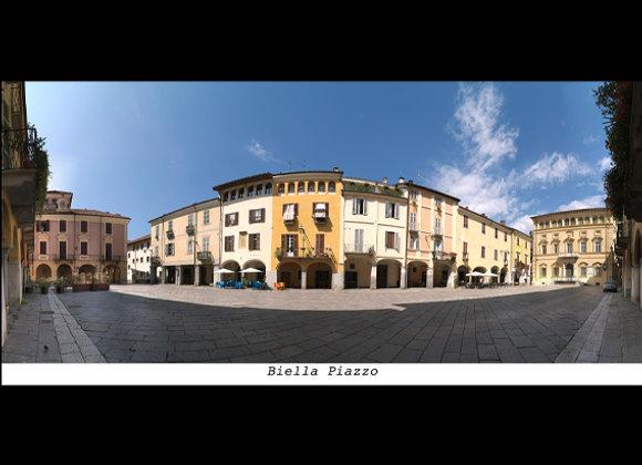 Biella Piazzo  cm. 19 x 9