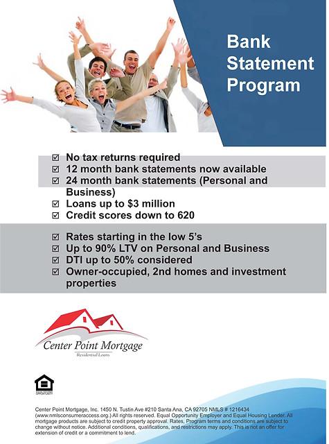 Bank Statement Program