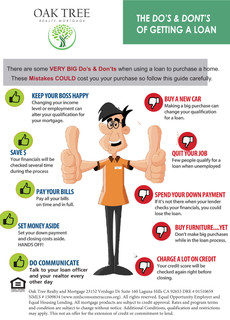 Home Buying DOs and DON'Ts