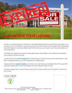 Reviving your listing