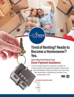 Tired Renting Flyer
