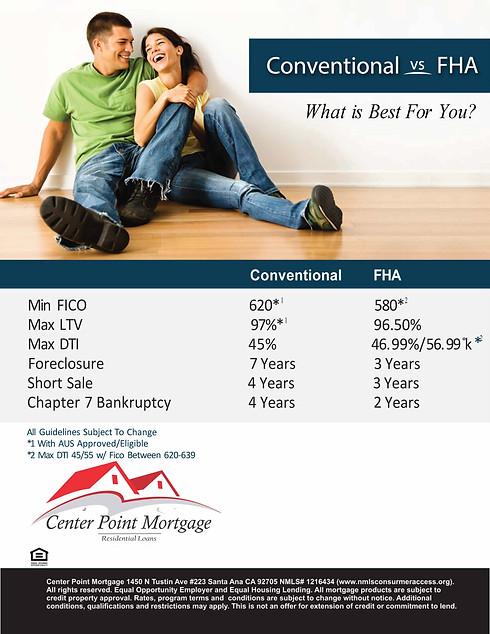 FHA-Conven comparison
