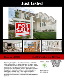 Just Listed #1