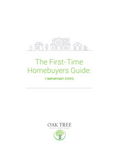 1st Time Buyers Guide