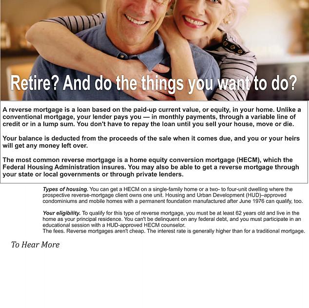 Reverse Mortgage 2