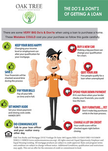 Dos and Dont's for Borrowers