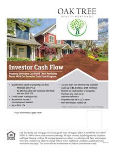 Investor Cash Flow