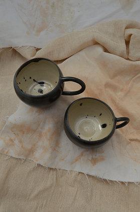 Black Semi-Matte Mugs