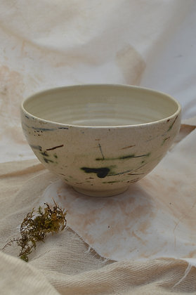Speckle Bowl with Oxides