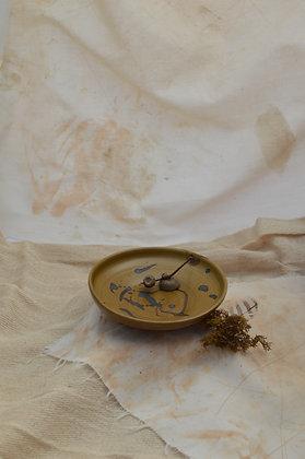 Small Brown Semi-Matte Dish II