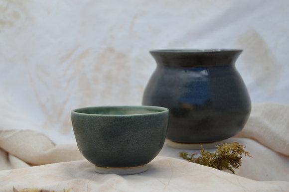 Speckle Green Bowl II