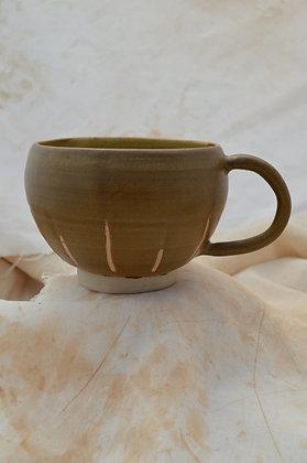 Brown Semi-Matte Mug