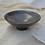 Thumbnail: Smooth Black Shallow Dish