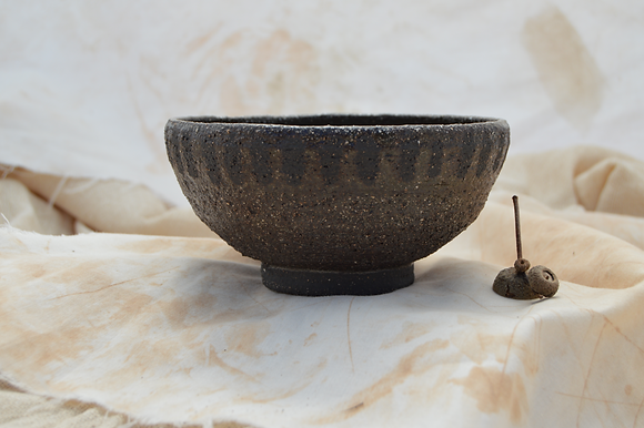 Coarse Black Bowl