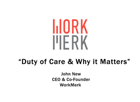 Duty of Care | Mitigate Litigation Through WorkMerk's VirusSAFE Pro App