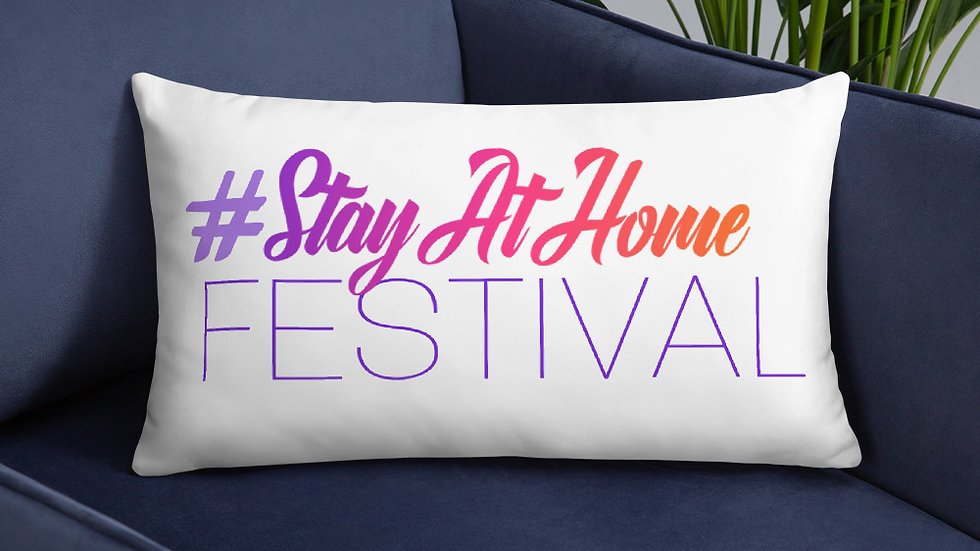 Pillow - StayAtHomeFestival
