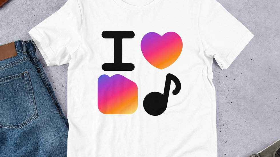 T-Shirt - I Love Home Music