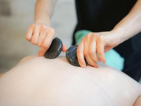 Hot Stone Massage at Beach House Day Spa
