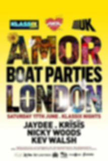 Klassix Boat Party with House Music Radio