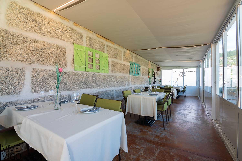 O Caranguexo restaurante en Domaio