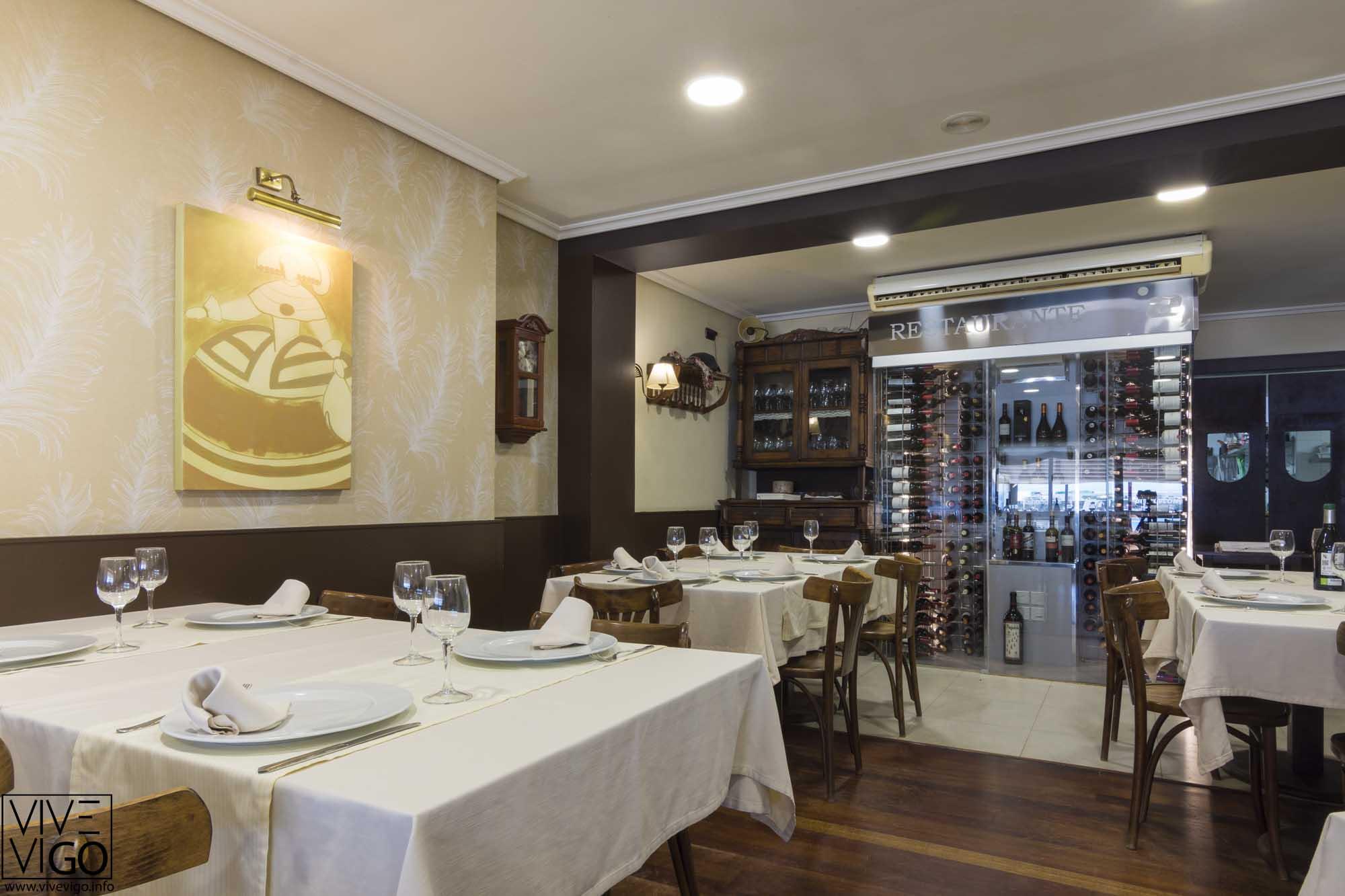 Restaurante Puntoecoma, Paxón Nigrán