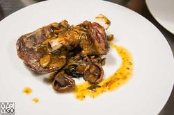 O Croque, comer en Bouzas - Vigo
