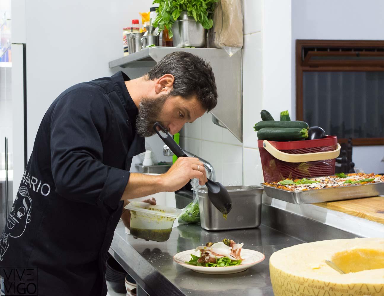 Da Mario trattoria siciliana en Vigo