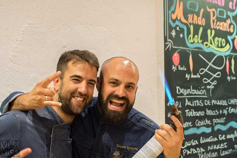 Gerson Iglesias y Álvaro Fuentes