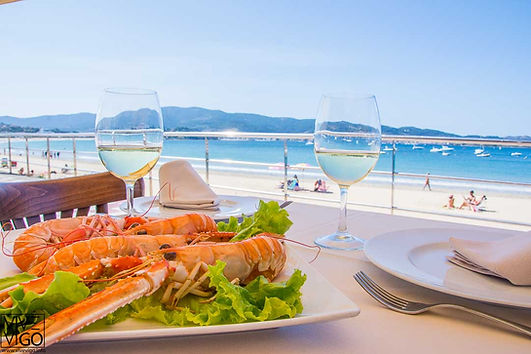 Restaurante Punto e Coma, Playa América Nigrán