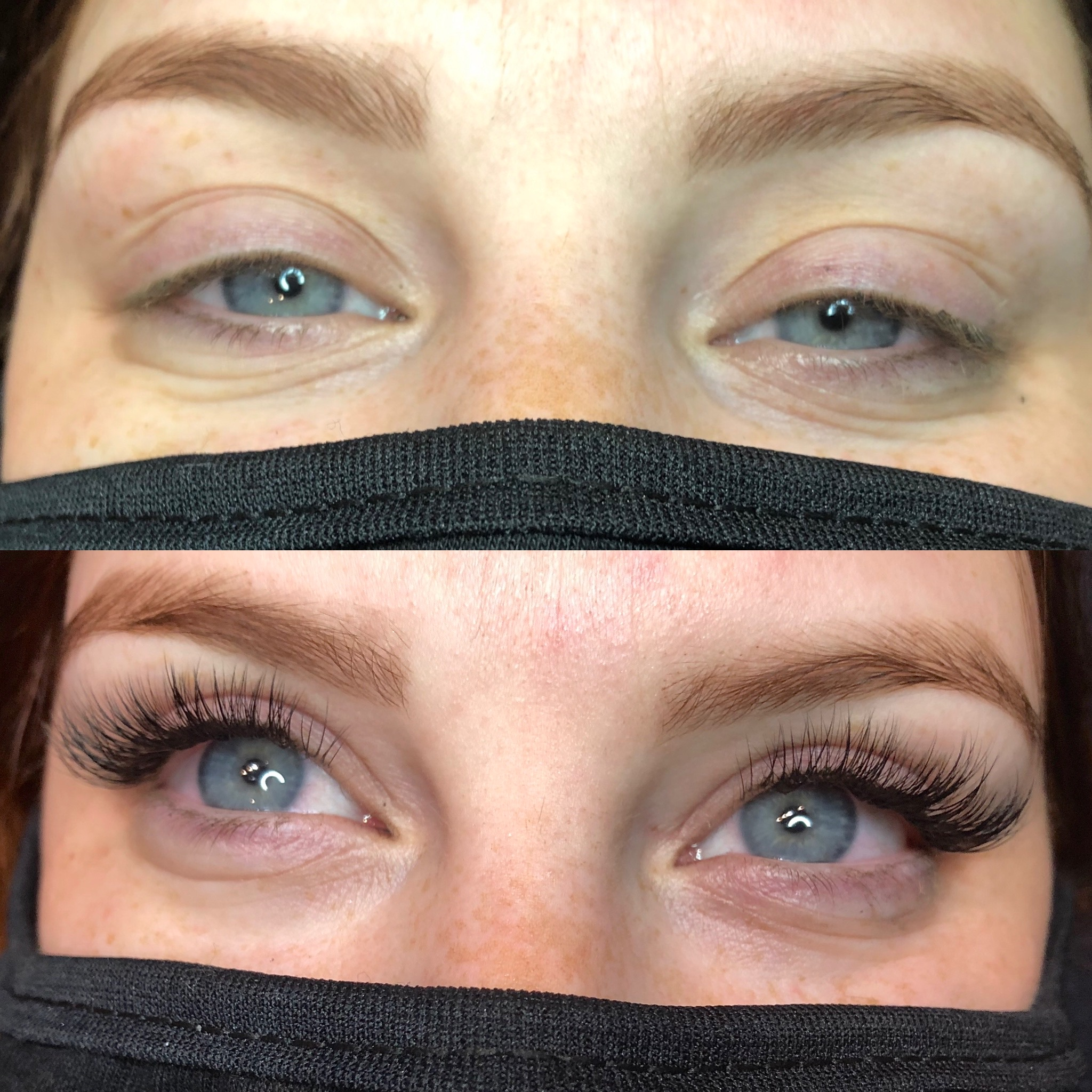 HYBRID LASH EXTENSION SET
