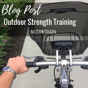 Putting the Train in NutriTrain: Outdoor Strength Training