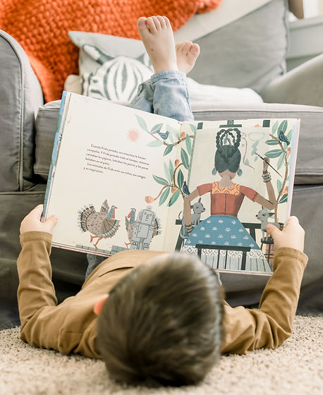 Beautiful Mundo Three-Year-Old Reading B