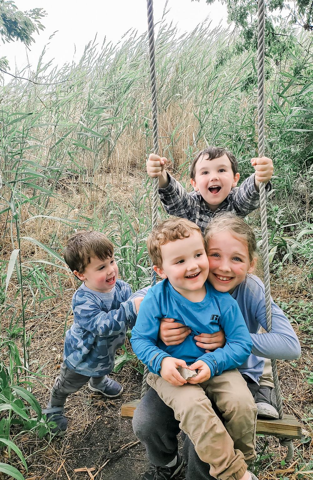 Author of Beautiful Mundo's four children