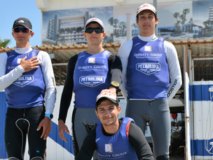 The Laser RDL - STD Team of Nautical Club Larnaca.