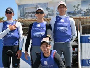 The Laser RDL - STD Team of Nautical Club Larnaca.
