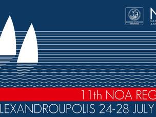 11th NOA Regatta has been announced. Are you ready to sail? 24-28th of July Alexandroupolis, Greece