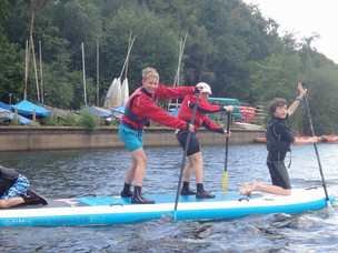 Lots of fun on last day of training in Dervent North UK