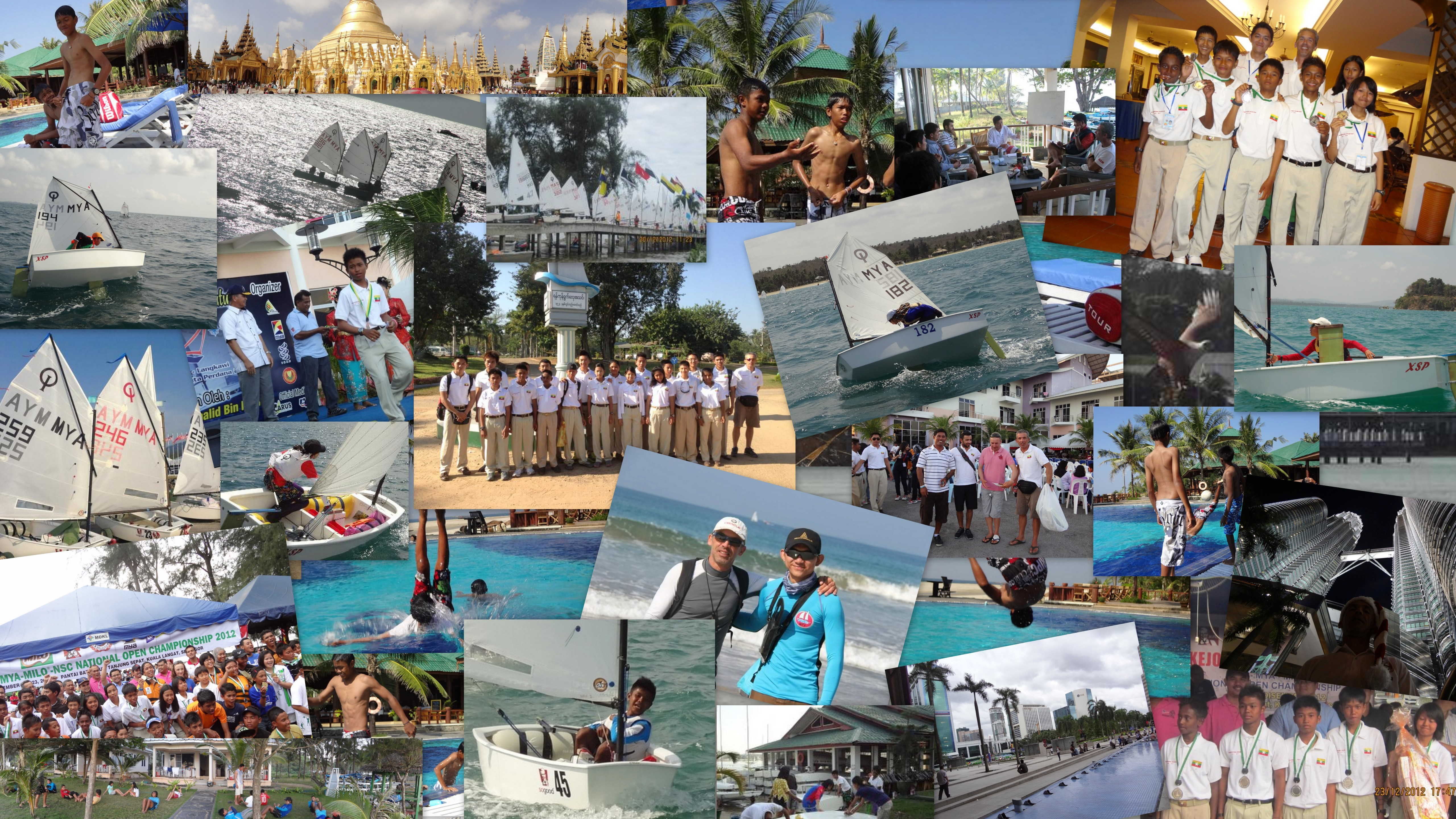 Optimist National Team MYANMAR