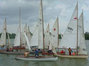Racing weekend for all people at Yangon sailing club