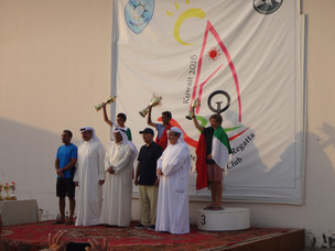 Kuwait international regatta 21-24 October 2016 - Egypt WIN!!!