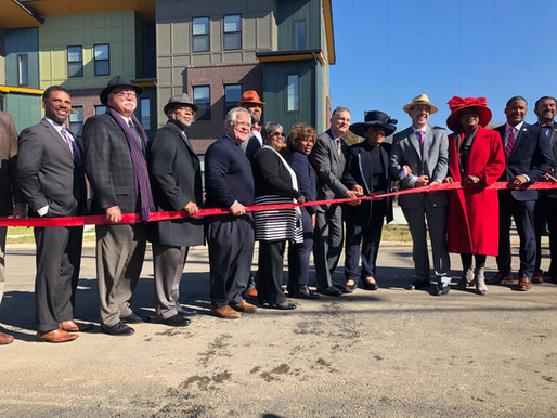 Harper Cove Flats Ribbon Cutting