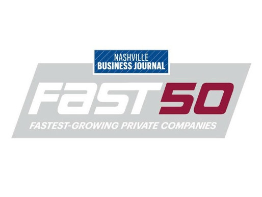 Nashville Business Journal Releases Fast 50 2020 Finalists