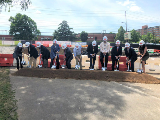 Curb Victory Hall Groundbreaking